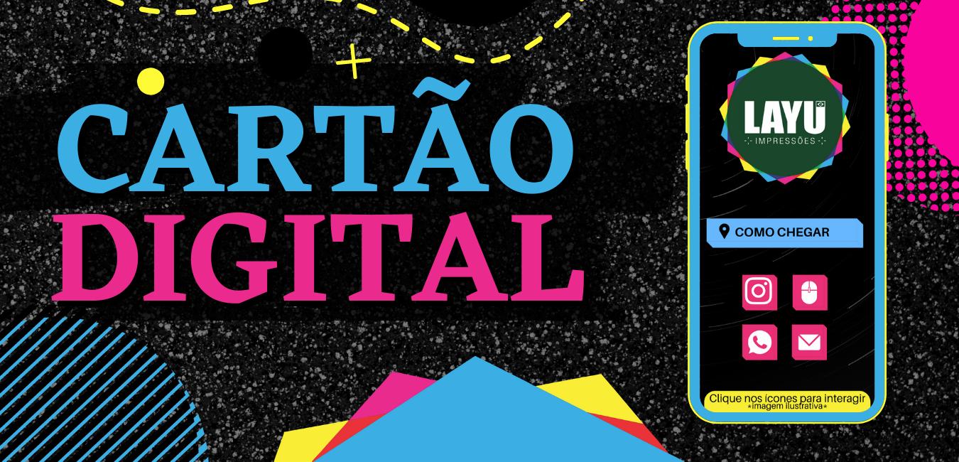 Cartão de Visitas Digital
